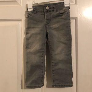 Little girls gap winter jeans